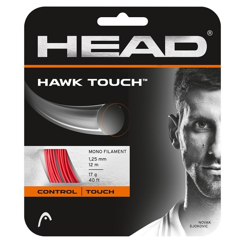 Corda de Tenis Head HAWK Touch Vermelha SET