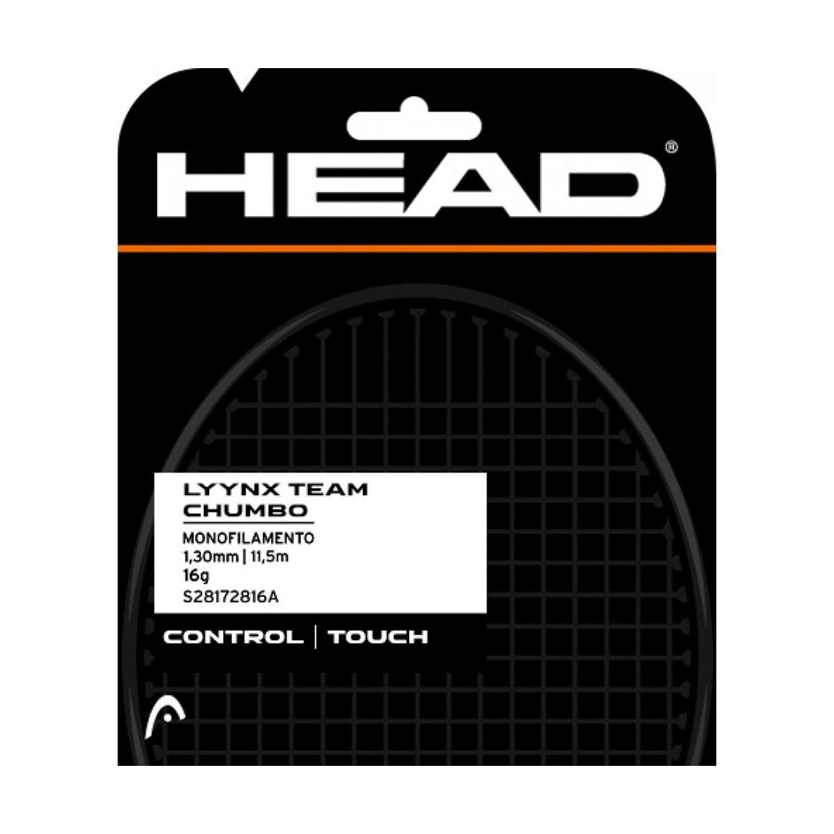 Corda de Tenis Head LYNX Tour Chumbo SET