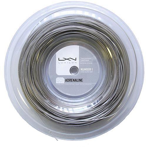 Corda de Tenis Luxilon Adrenaline 1.25 MM Rolo com 200 M