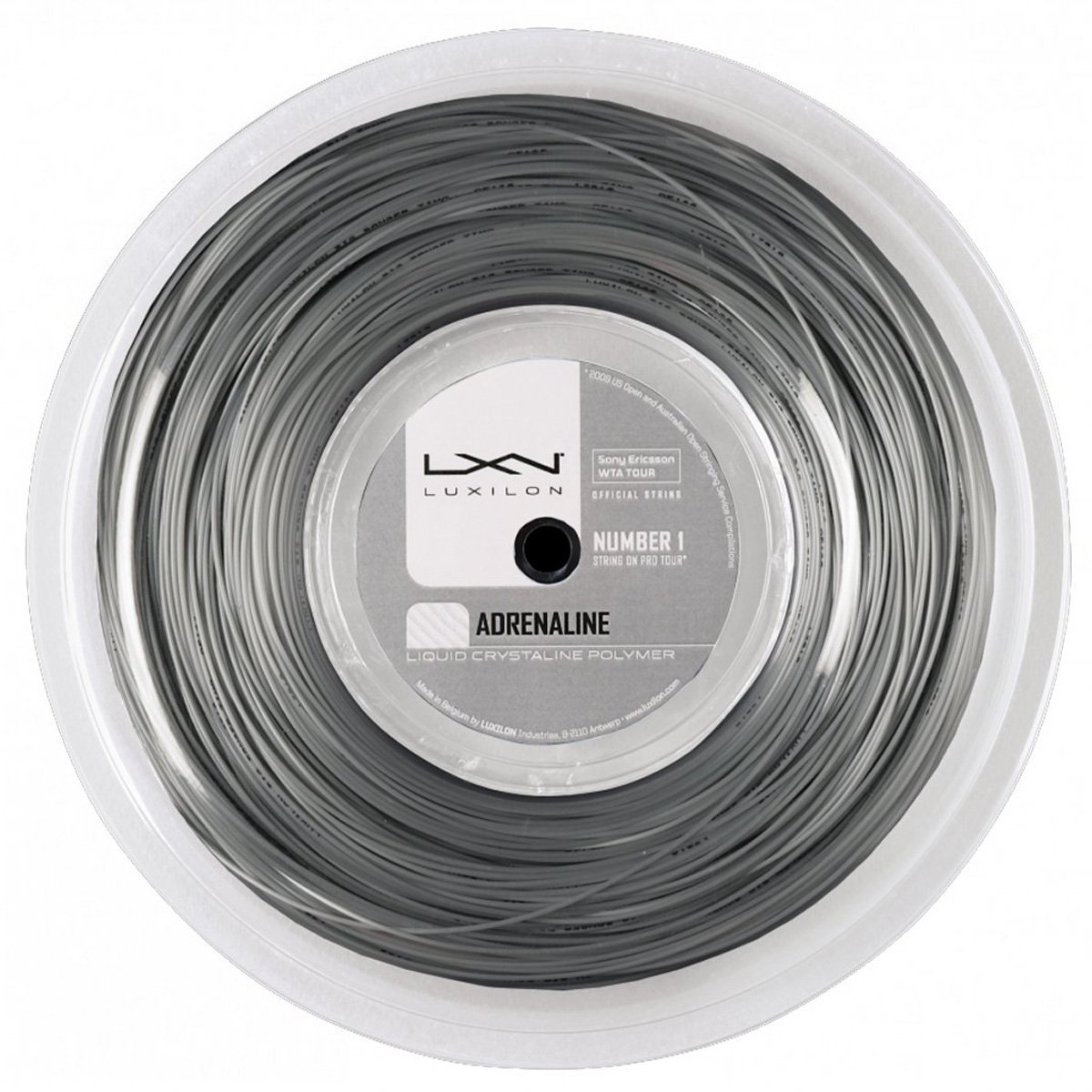Corda de Tenis Luxilon Adrenaline 1.30 MM Rolo com 200M