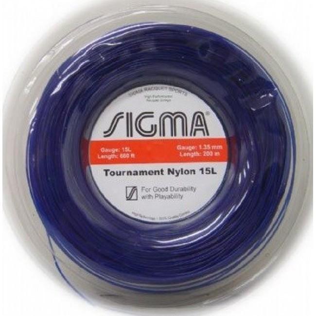 Corda de Tenis Sigma NYLON 1,35MM Rolo 200M
