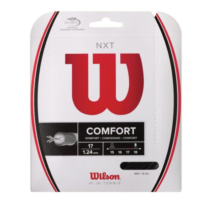 Corda de Tenis Wilson NXT Comfort Preta SET Individual