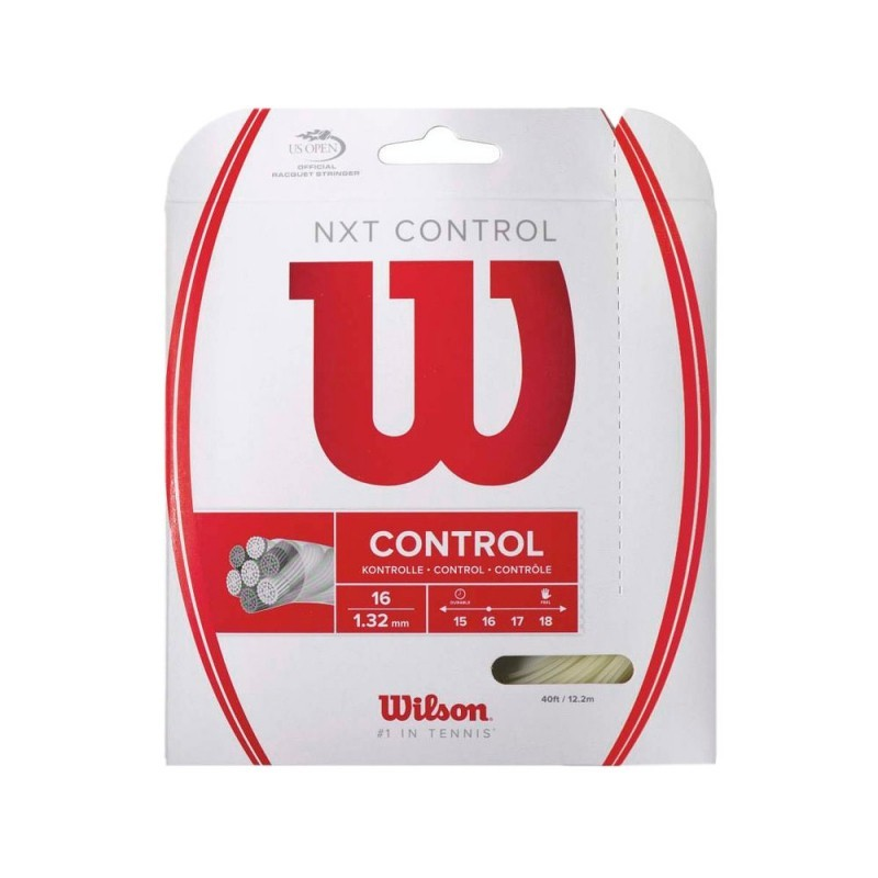 Corda de Tenis Wilson NXT Control SET 1.32MM