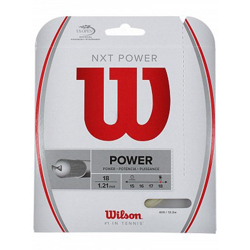 Corda de Tenis Wilson NXT Power SET