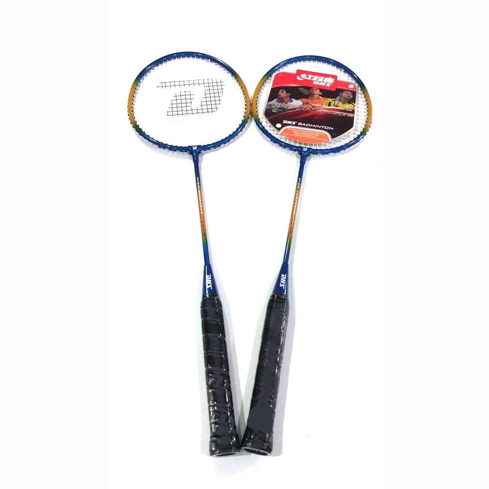 Kit de Badminton DHS 1010 com 2 Raquetes