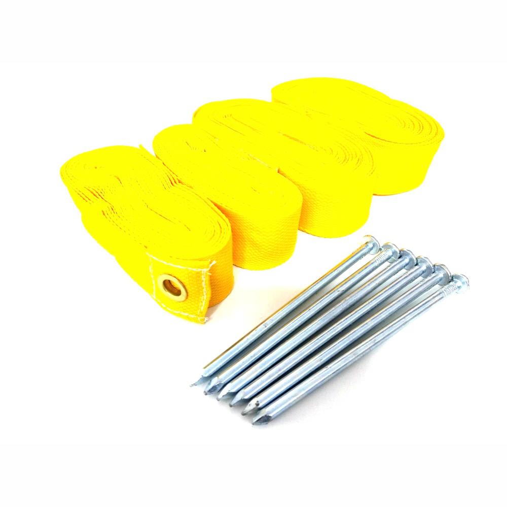 Kit de Marcação SPIN para Beach Tennis Amarela