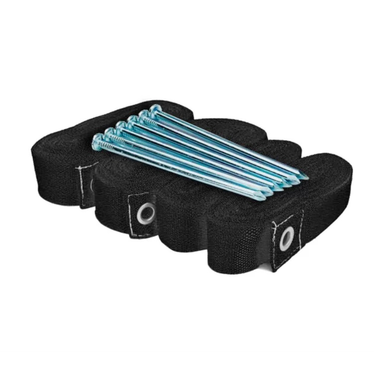 Kit de Marcação SPIN para Beach Tennis Preto