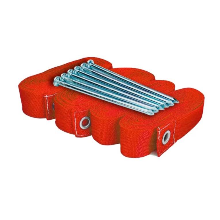 Kit de Marcação SPIN para Beach Tennis Vermelho