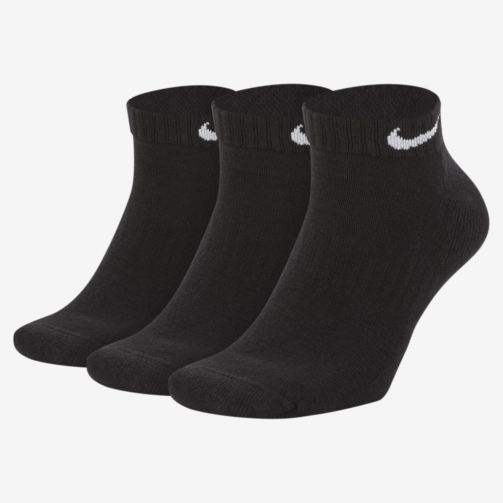 Meia Nike Everyday Cano Baixo Preta 39-43 G