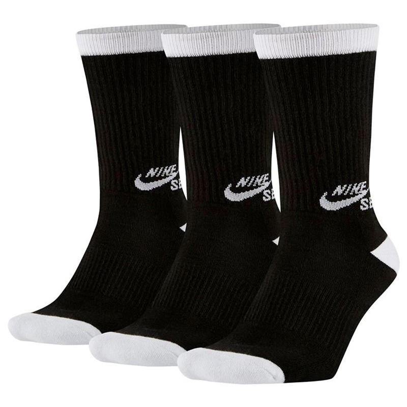 Meia Nike SB Cano ALTO Preta