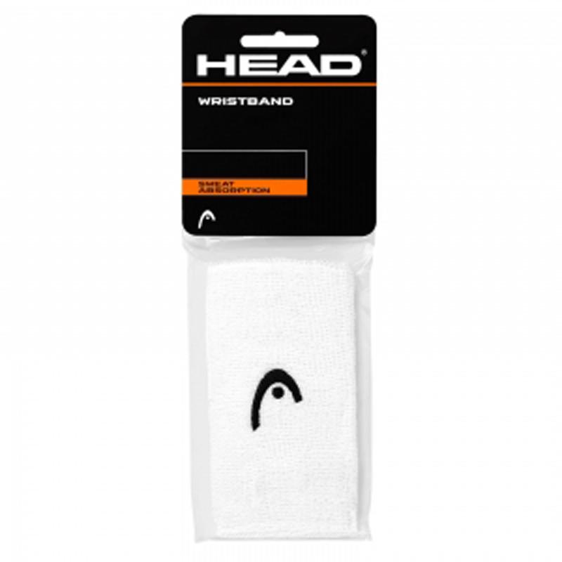 Munhequeira Head Logo 5¨ Branca