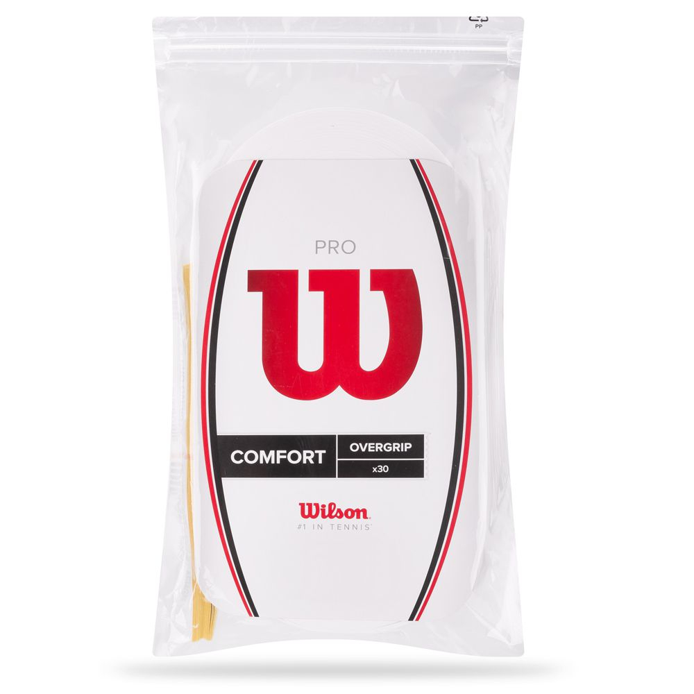 Overgrip Wilson PRO Branco 30 Unidades