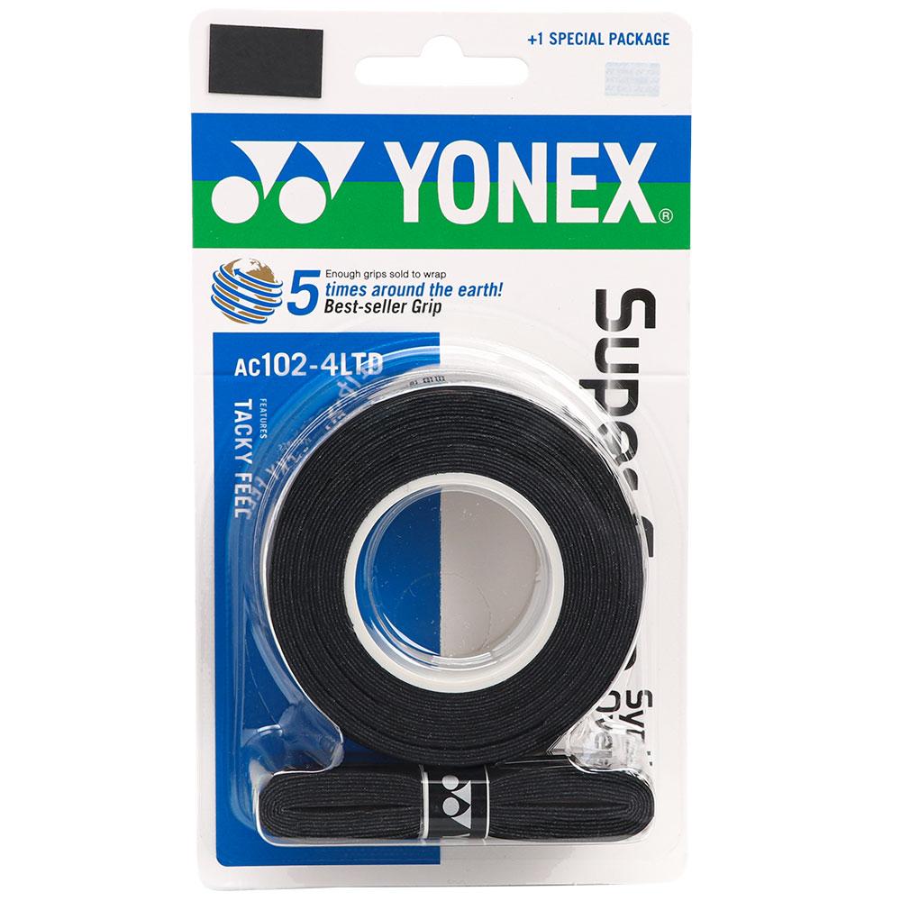Overgrip Yonex com 4 Unidades Preto