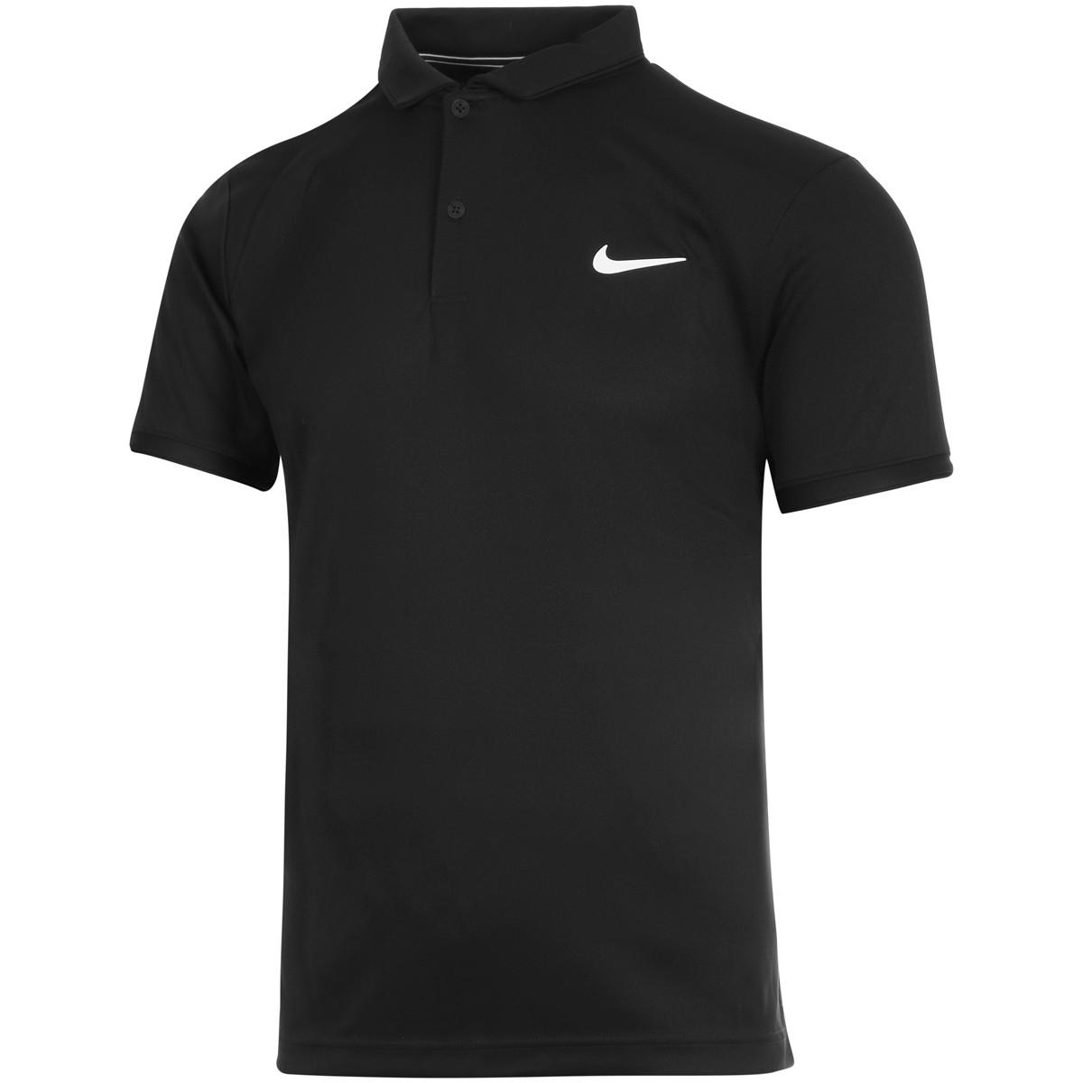 Polo Nike Court DRI FIT Victory Preta