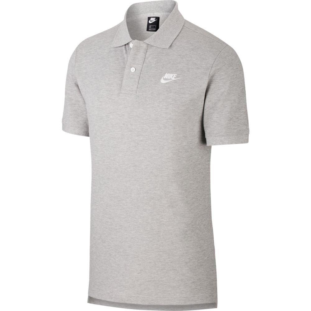 Polo Nike Sportswear Cinza