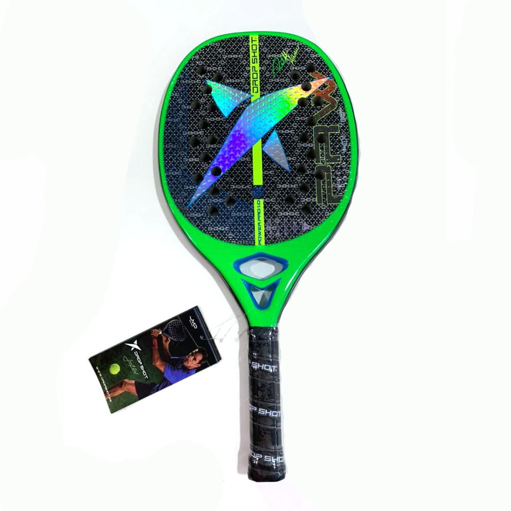 Raquete de Beach Tennis DROP SHOT Power PRO 1.0 2021