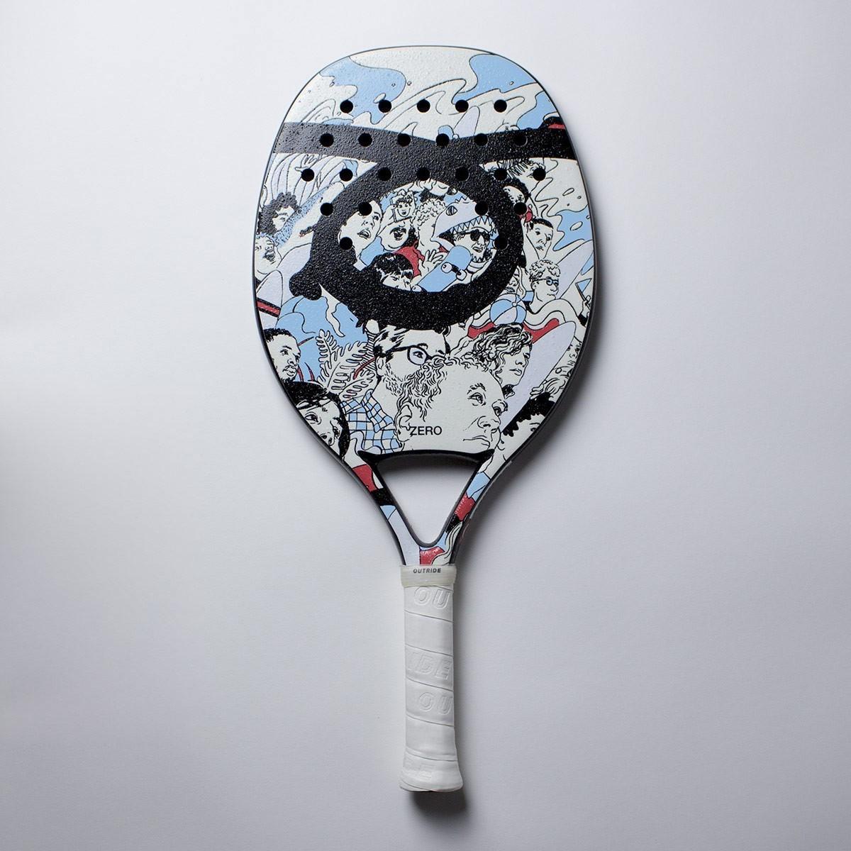 Raquete de Beach Tennis Outride Zero
