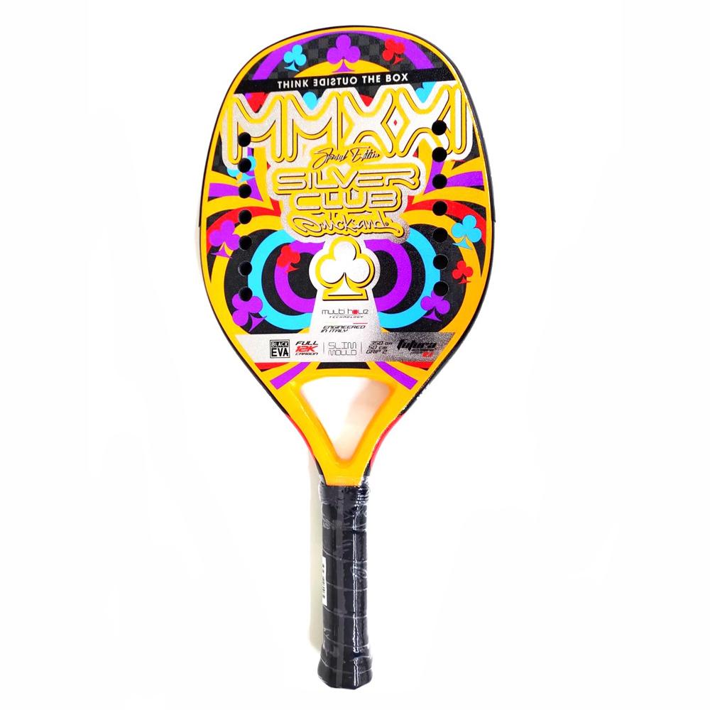 Raquete de Beach Tennis Quicksand Silver CLUB 2021 Edição Especial