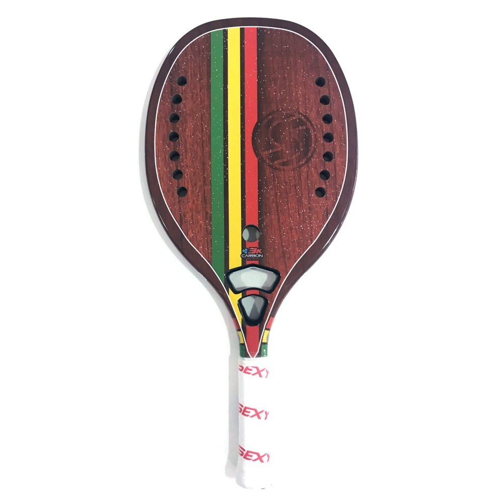Raquete de Beach Tennis SEXY Rasta Woody