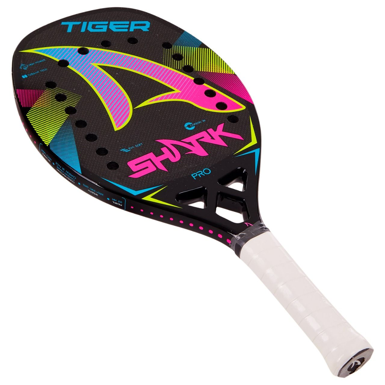 Raquete de Beach Tennis SHARK Tiger 2021