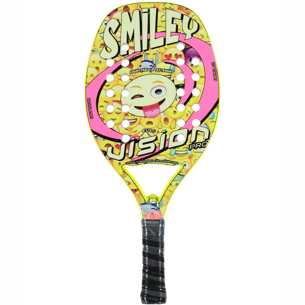 Raquete de Beach Tennis Vision Smiley Infantil