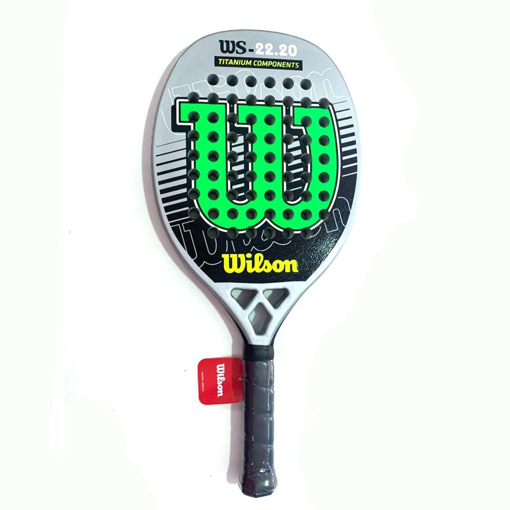 Raquete de Beach Tennis Wilson 22.20 Cinza