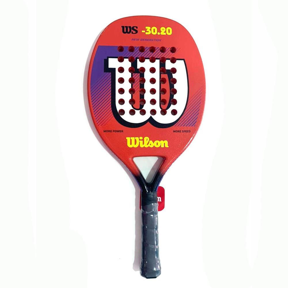 Raquete de Beach Tennis Wilson 30.20 Laranja