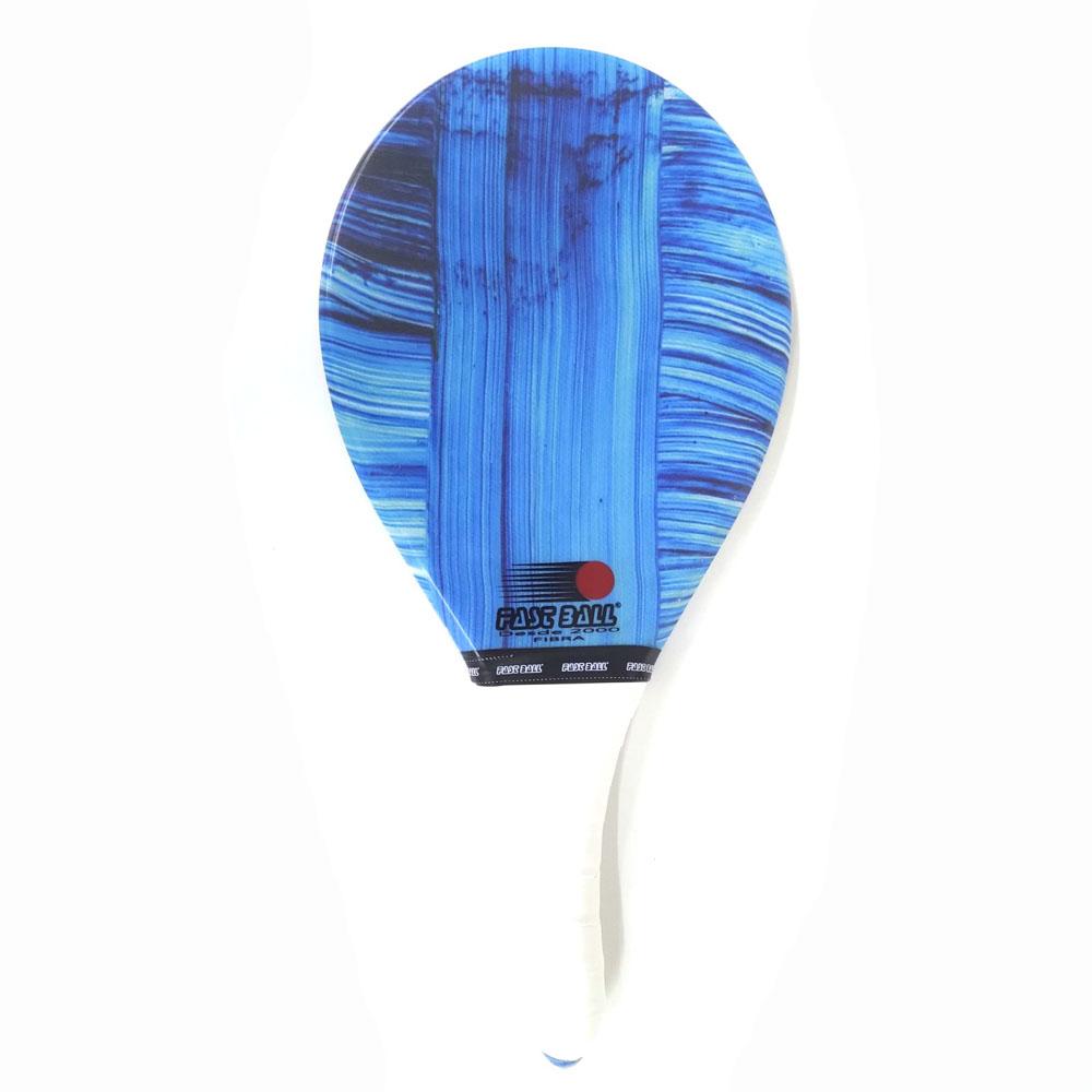 Raquete de Frescobol FAST BALL Fibra Blue
