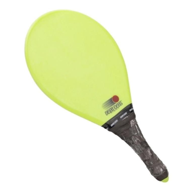 Raquete de Frescobol FAST BALL Fibra Limão