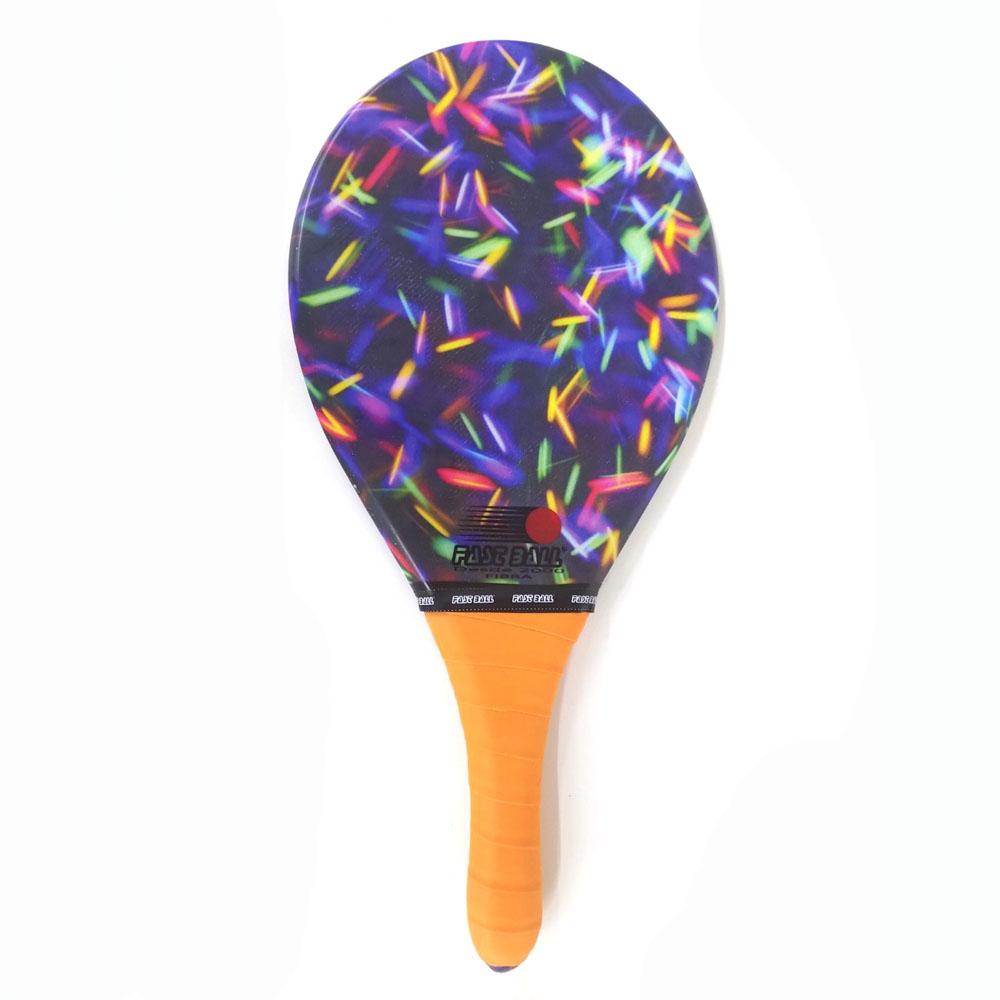 Raquete de Frescobol FAST BALL Fibra Luzes