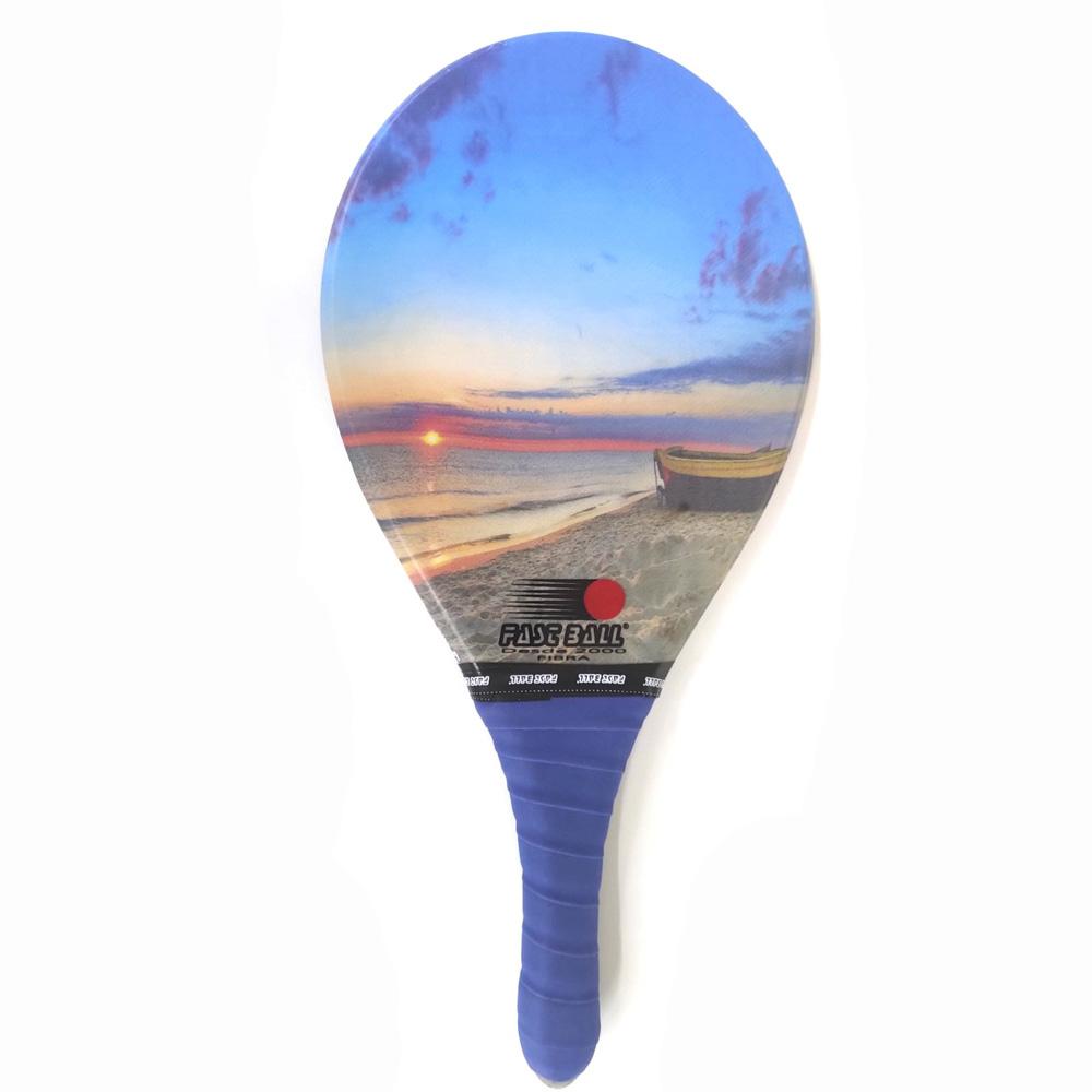 Raquete de Frescobol FAST BALL Fibra Praia