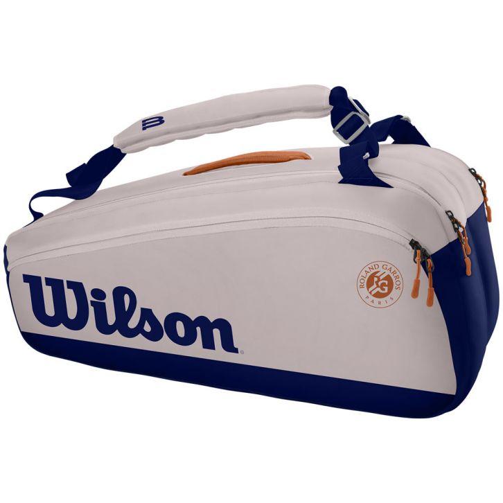 Raqueteira Wilson Premium Roland Garros X9 Gelo e Marinho
