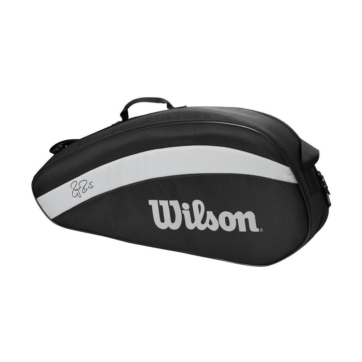 Raqueteira Wilson RF Team Simples X3 Preta