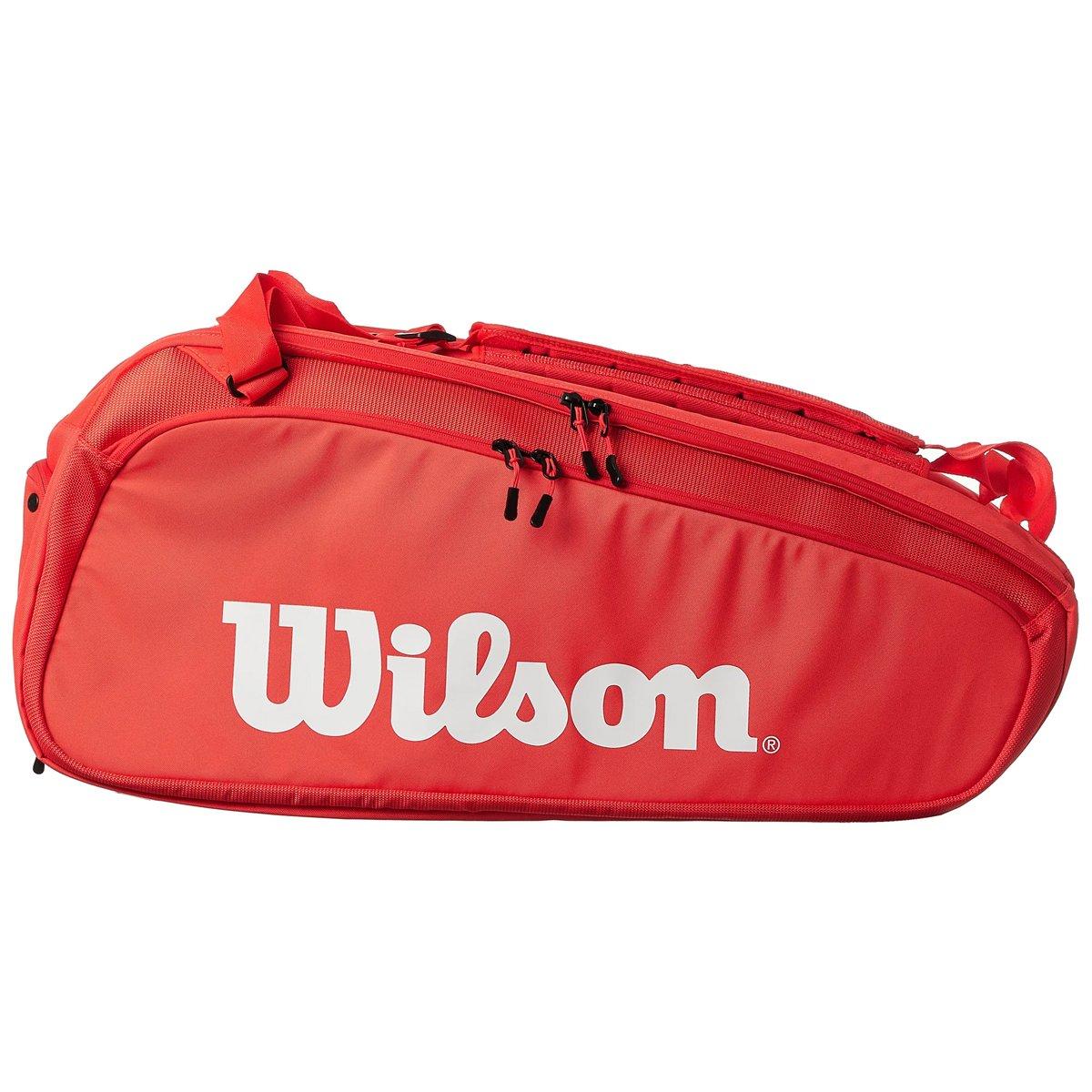 Raqueteira Wilson Super Tour Vermelha X15