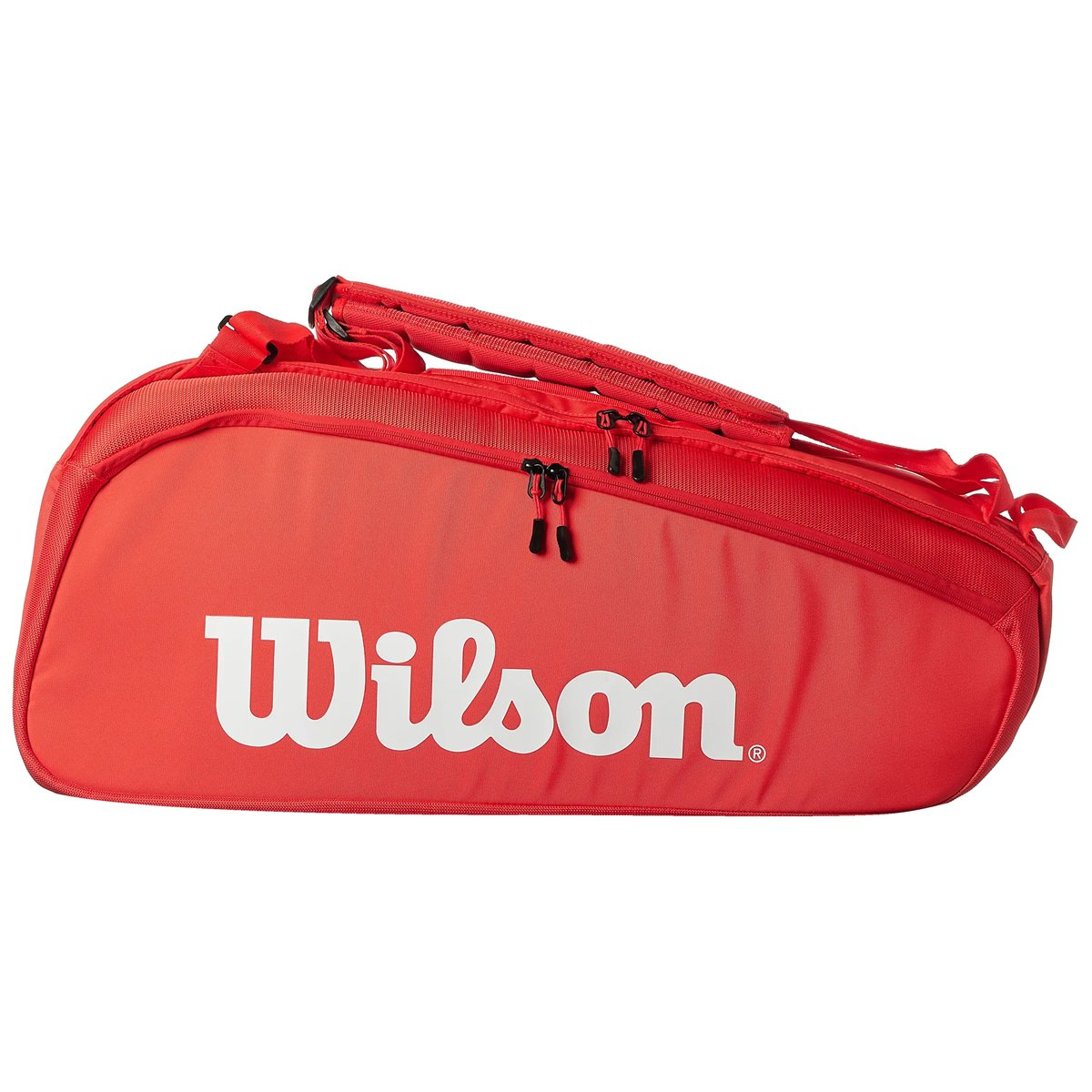 Raqueteira Wilson Super Tour Vermelha X6