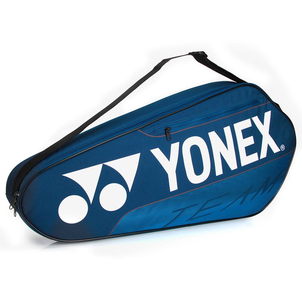 Raqueteira Yonex Team 42123 Simples X3 AZUL