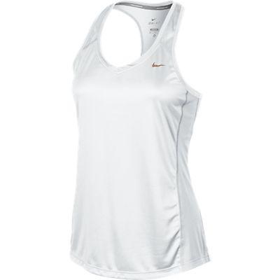Regata Nike Miler TANK Feminina Branca