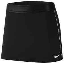Saia SHORT Nike DRY SKIRT STR Preto