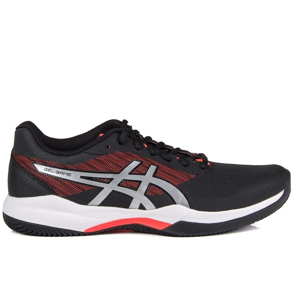 Tenis ASICS GEL Game 7 CLAY BLACK/FLASH Coral