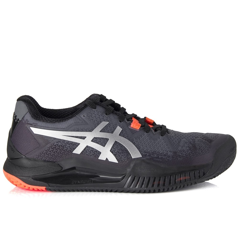 Tenis ASICS GEL Resolution 8 CLAY BLACK/SUNRISE RED