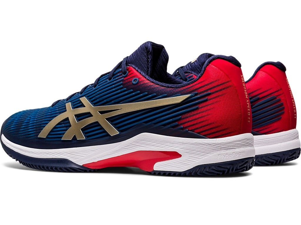 Tenis ASICS Solution Speed FF CLAY PEACOAT/CHAMPAGNE