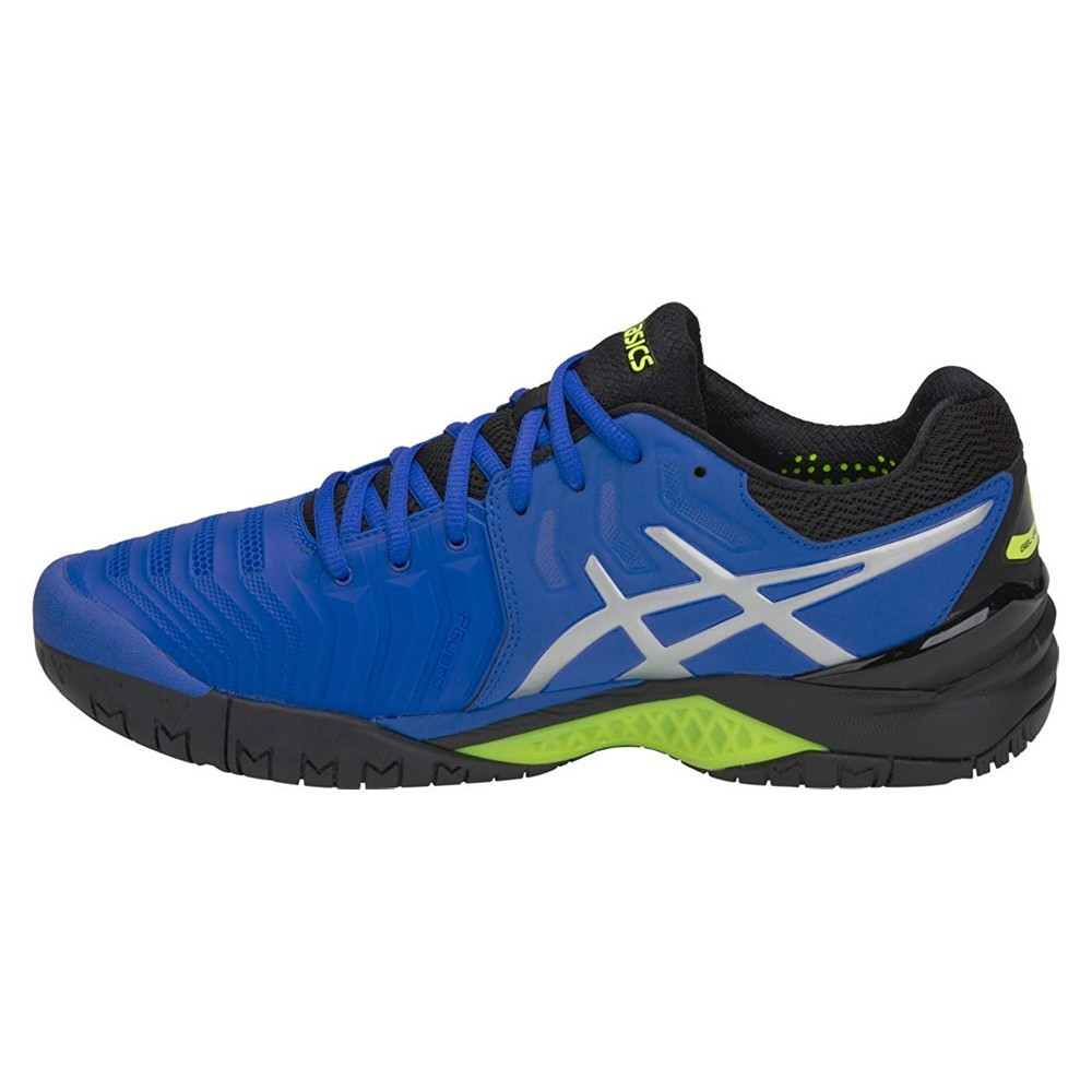 Tenis ASICS Solution Speed FF PRETO/AZUL/PRATA