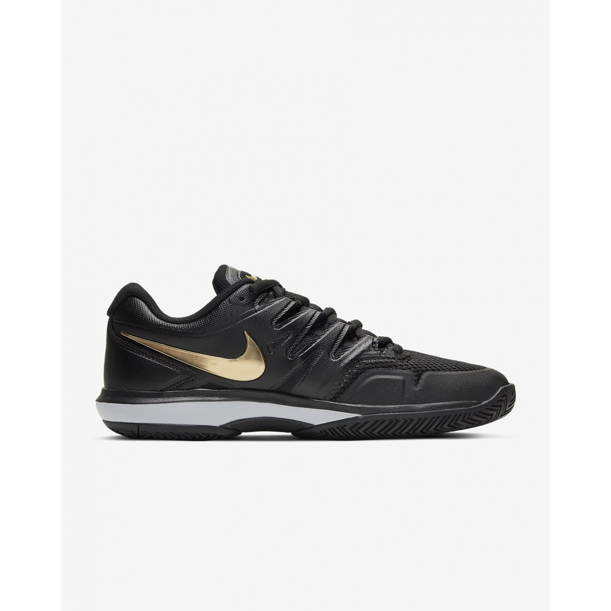 Tenis Nike AIR Zoom Prestige Preto e Dourado