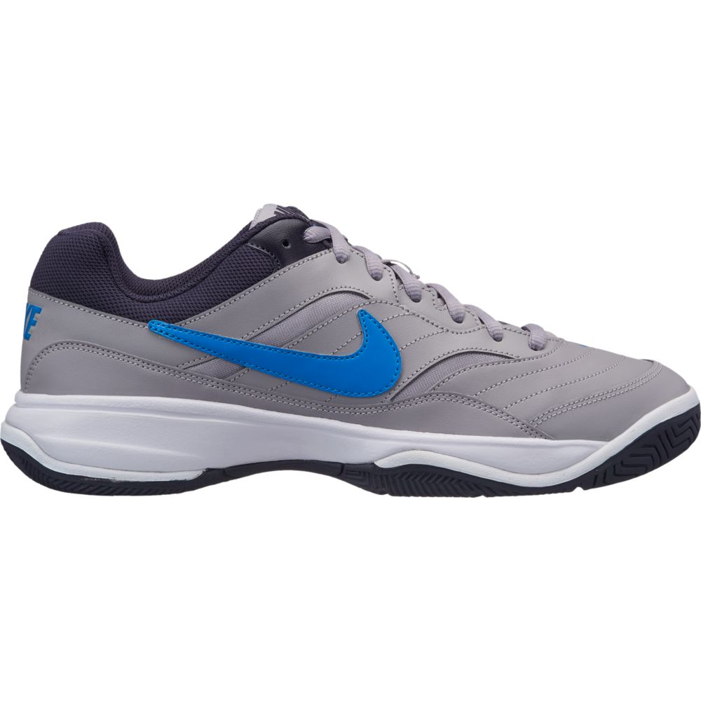 Tenis Nike Court Lite Cinza e AZUL