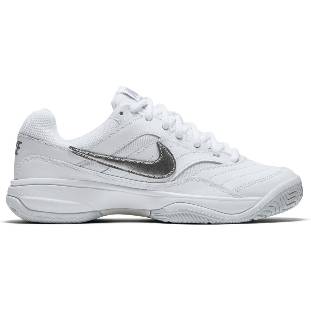 Tenis Nike Court Lite Feminino Branco e Cinza