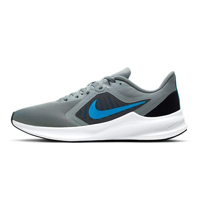 Tenis Nike Downshifter 10 Cinza e AZUL