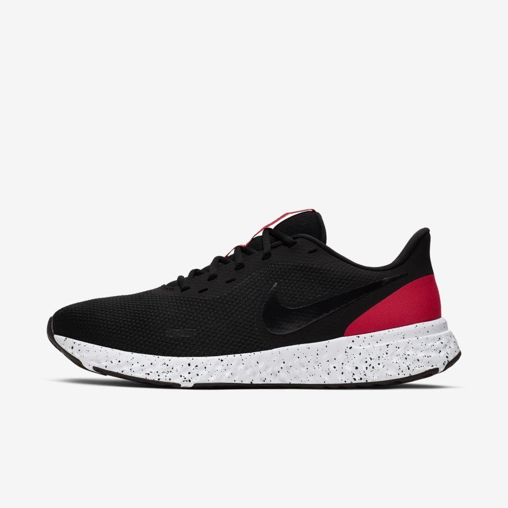 Tenis Nike Revolution 5 Preto e Vermelho