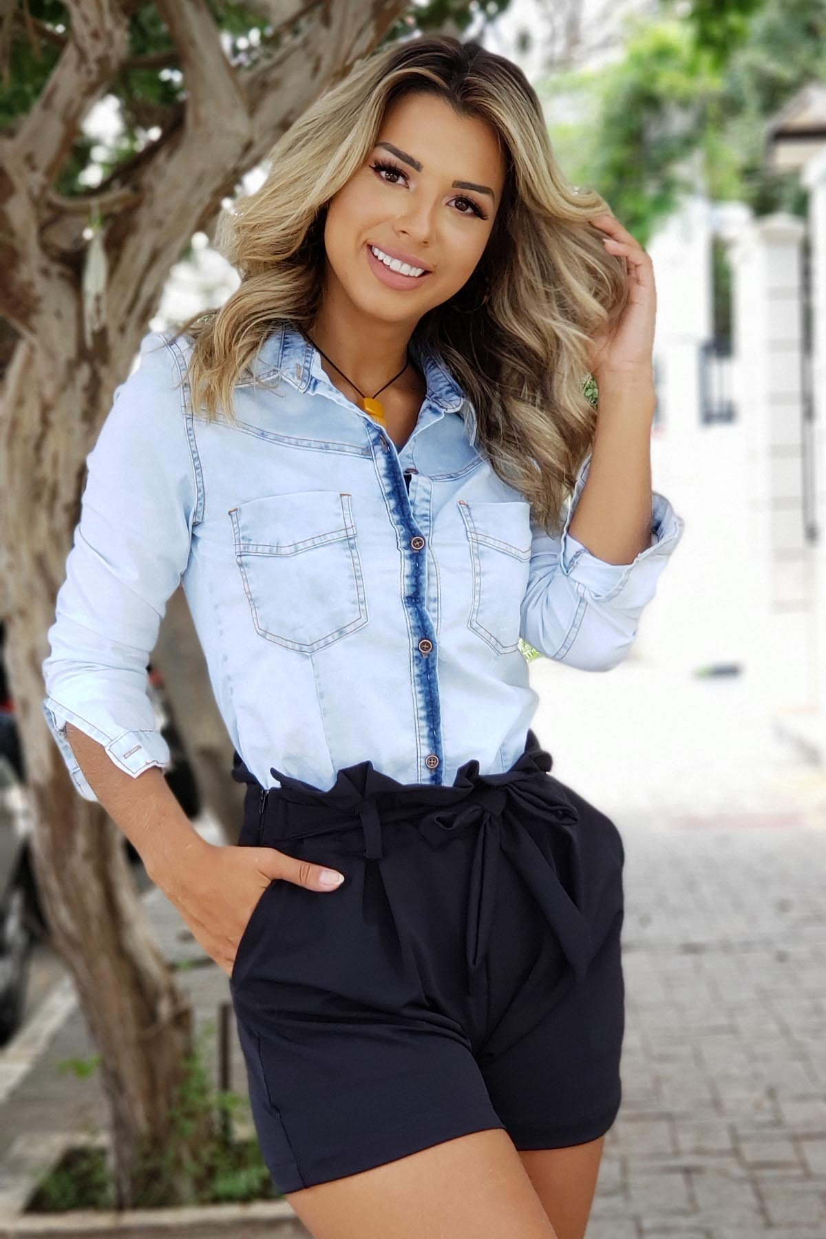 CAMISA JEANS LADY