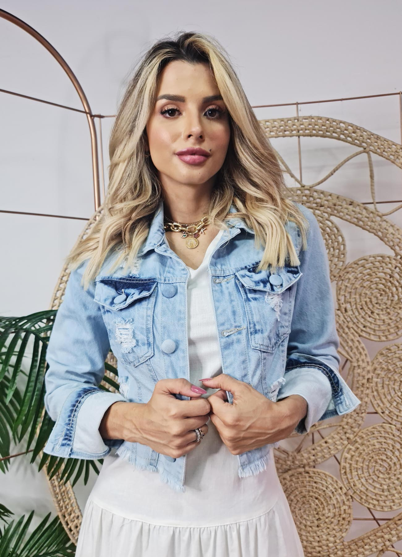 JAQUETA JEANS ANGEL