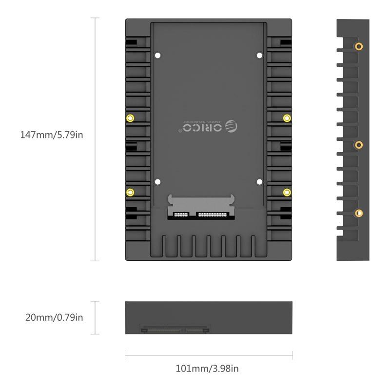Adaptador para HD Sata 2.5 para 3.5 - 1125SS-V1